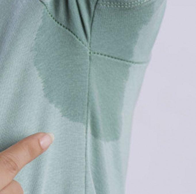 Conoce la Hiperhidrosis o exceso de sudoración